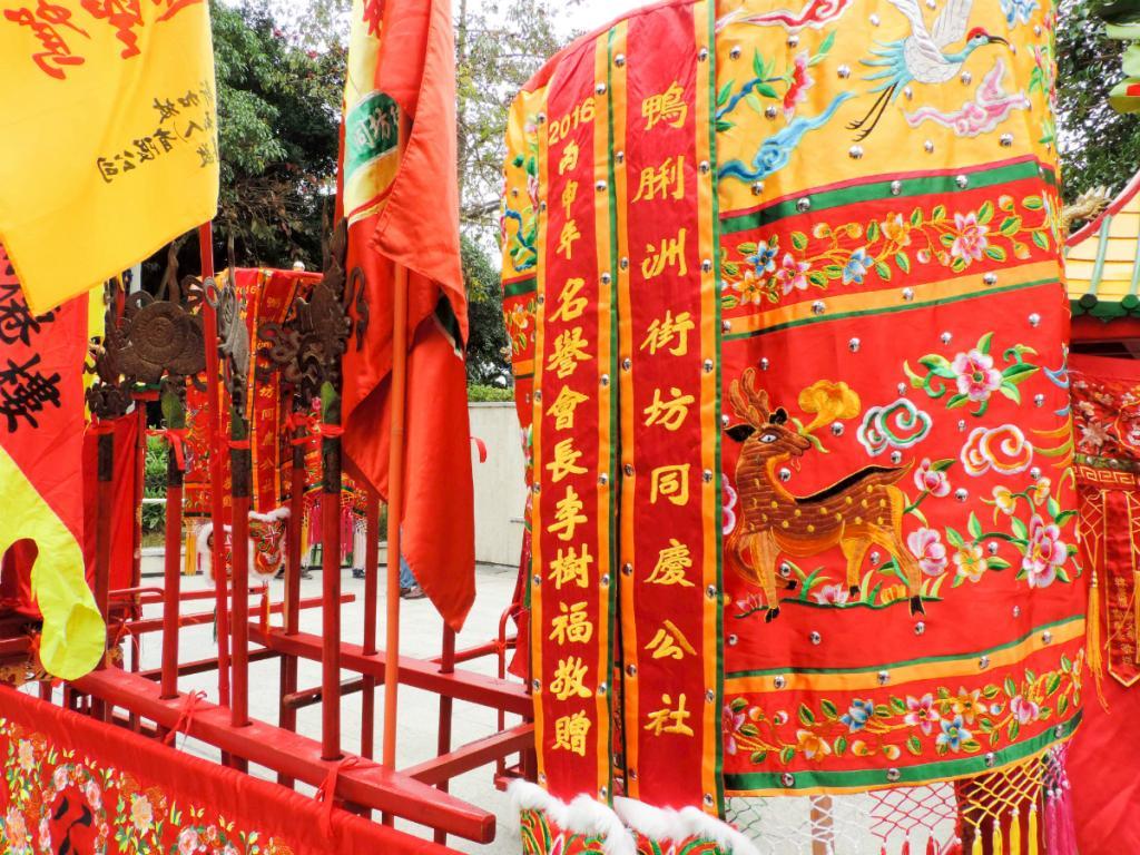 百年文化傳承!南區周末洪聖寶誕賀誕巡遊