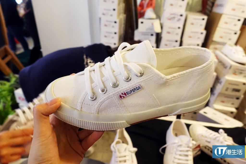 黃竹坑潮牌限時勁減! SUPERGA布鞋$150、多款Havaianas拖鞋$90