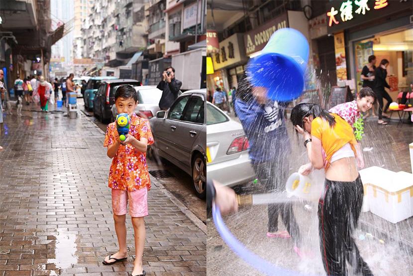 1日限定!香港都有得玩泰國潑水節