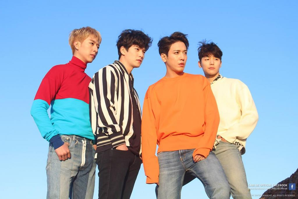 韓團CNBLUE偏愛香港 8月舉行一連兩場演唱會