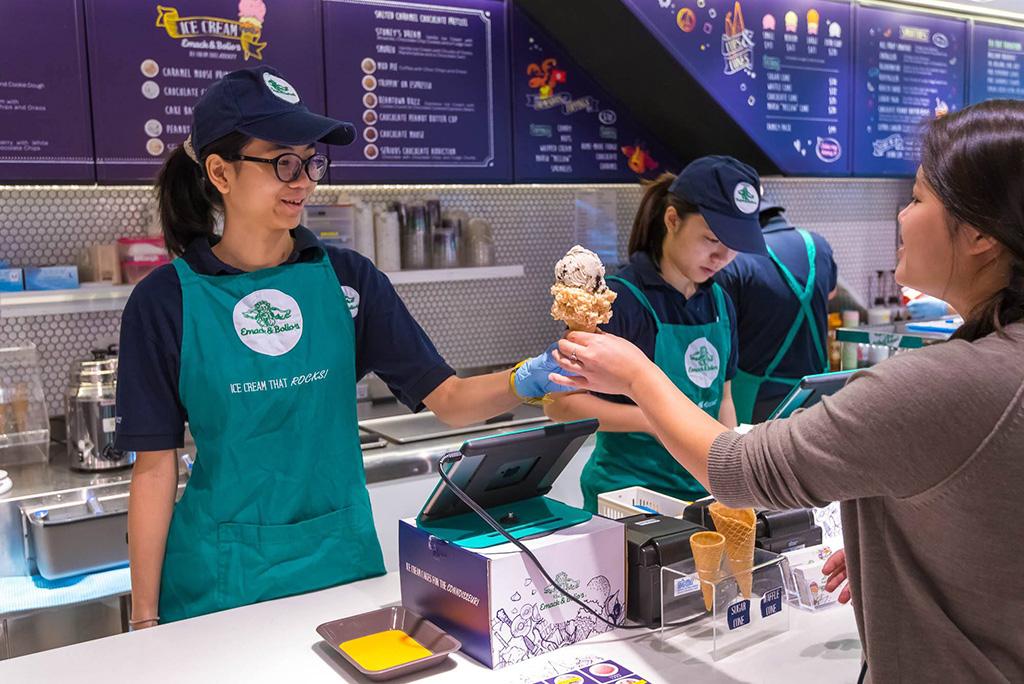 Emack & Bolio's 免費派雪糕 3間分店都供應!