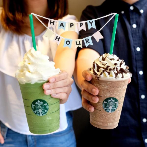 Starbucks限時優惠!星冰樂買一送一