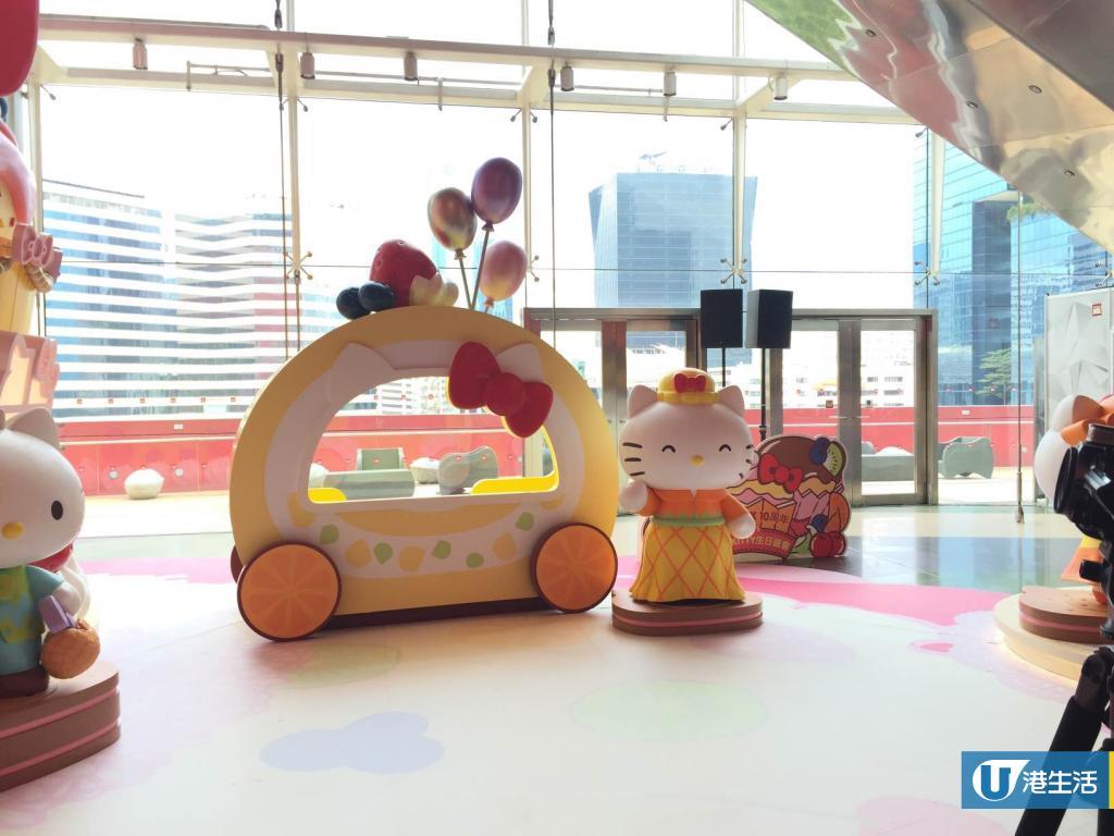 九龍灣Hello Kitty生日會 20呎蛋糕屋+溜冰場雪祭