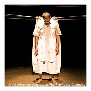 世界文化藝術節2017節目:艾瑤.花柏和泰姆比.姆沙利-瓊斯(南非)獨腳戲系列:《等待》