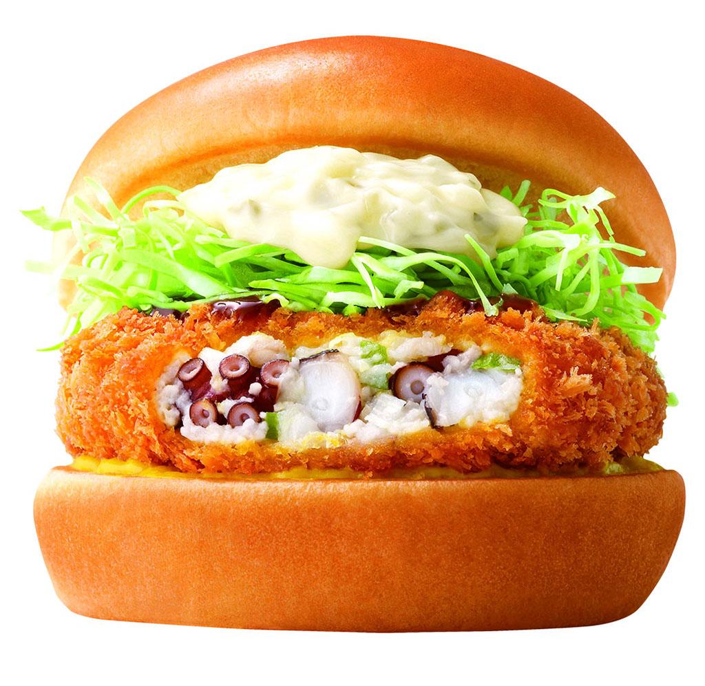 MOS Burger 4日限定優惠 $13食到復刻版吉列八爪魚漢堡