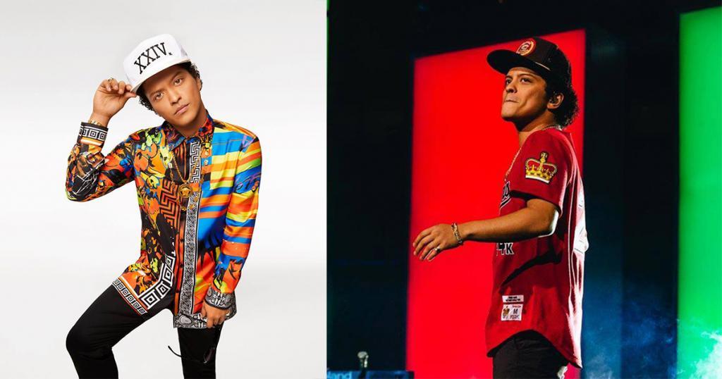 Bruno Mars世界巡迴  2018年5月唱到香港!