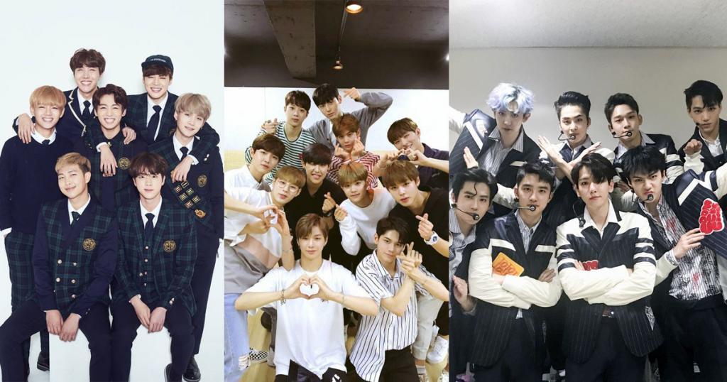 MAMA十二月香港舉行 Wanna One越級挑戰BTS、EXO男團一哥寶座