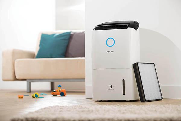 空氣淨化+抽濕2合1 Philips DE5205幫你頂住流感!