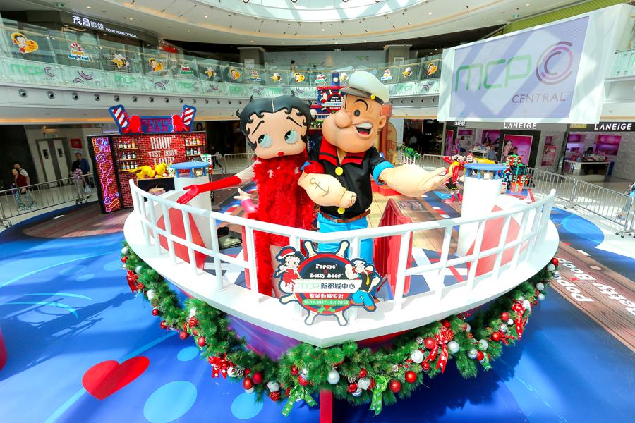 經典中的經典!大力水手Popeye X Betty Boop聖誕郵輪派對!