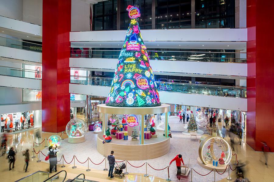 太古城中心「聖誕光影樂園」 大人小孩都鍾意!