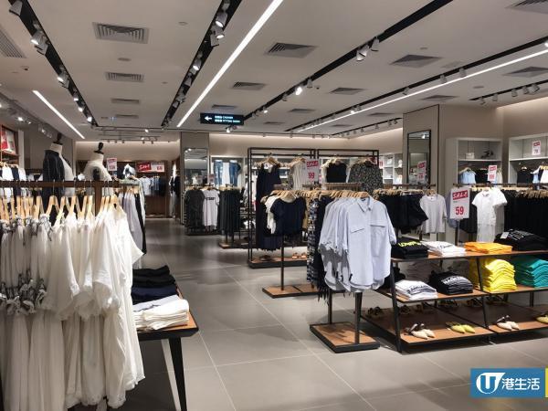 連鎖日韓系服飾店3折 冷帽$29/上衣$39/牛仔褲$69