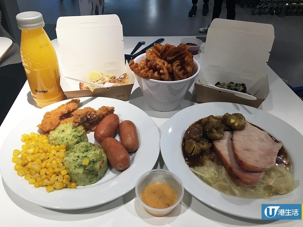 人均$70有找食IKEA聖誕大餐!新出$5酒味朱古力軟雪糕