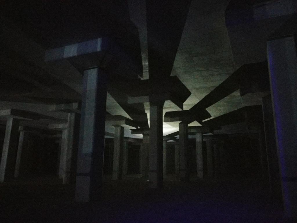 深水埗蓄洪池限定開放展覽 《大禹之後》聲光影重現神秘水底世界