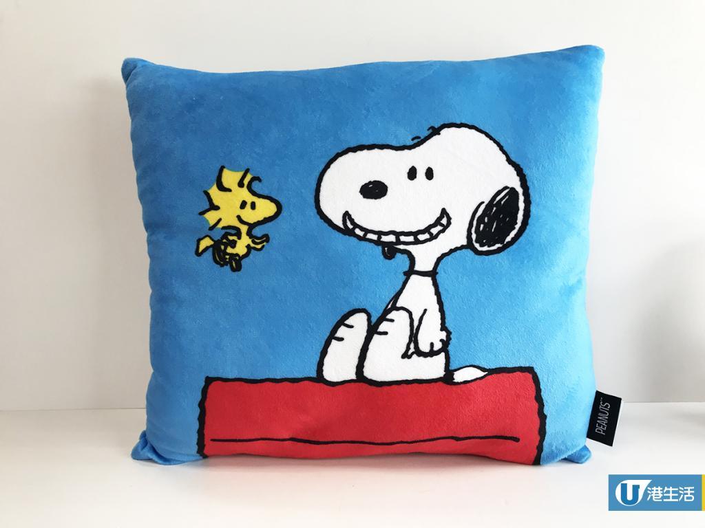 Snoopy攬枕/毛毯/保溫瓶!即日起電器店換購
