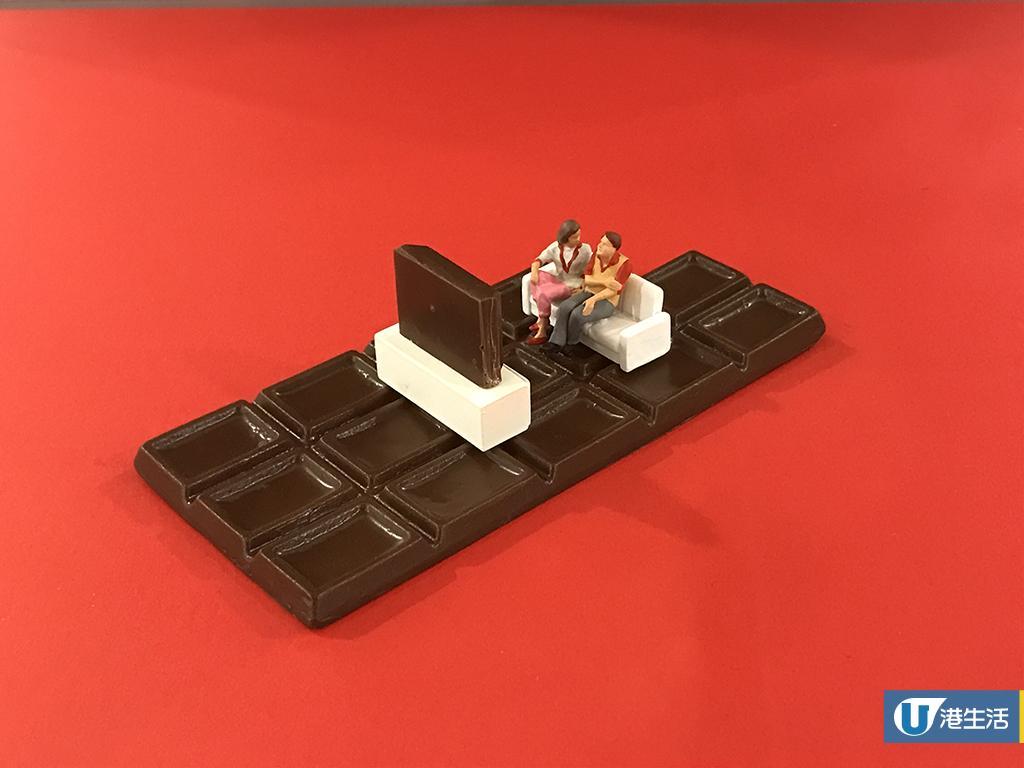 日本微型大師田中達也朱古力展 32個巨型食物+迷你人物模型!