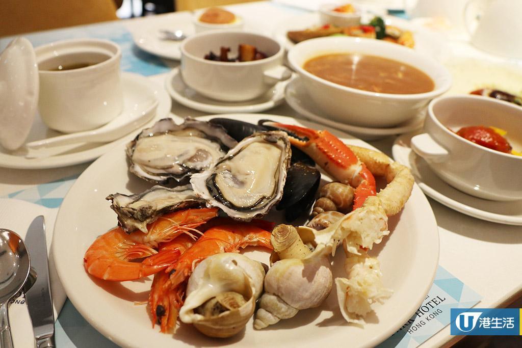 尖沙咀酒店鮑魚主題自助餐 3小時任食生蠔/即燒羊架/燉燕窩