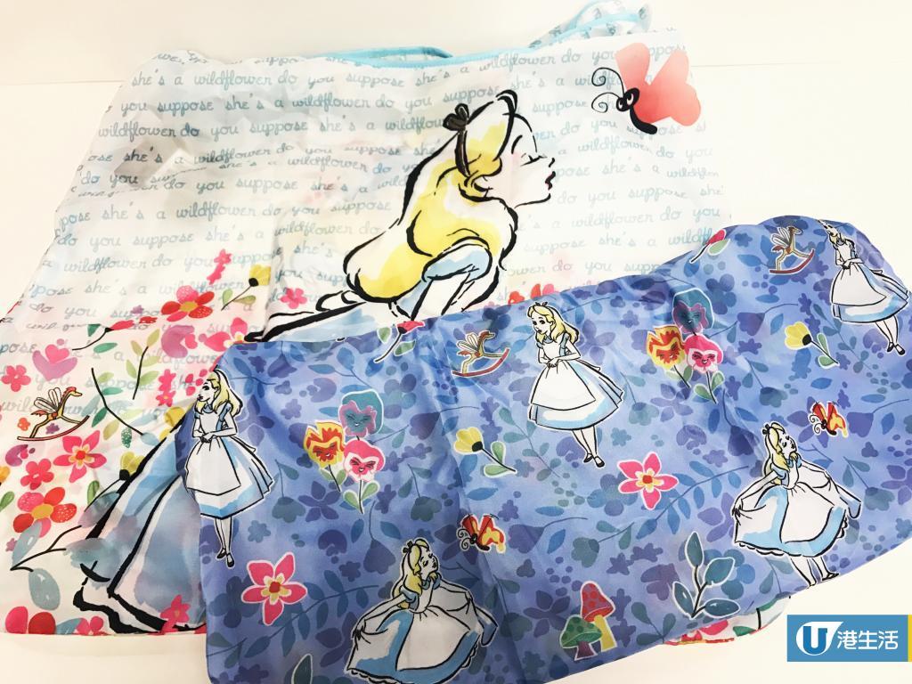 7-eleven新推迪士尼愛麗絲精品!卡套/環保袋/鏡盒7大精品晒冷
