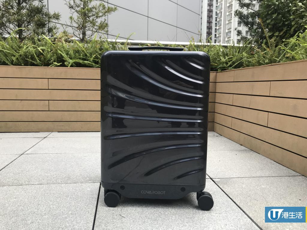 自動跟實行5個鐘!美國設計智能免提行李箱登場