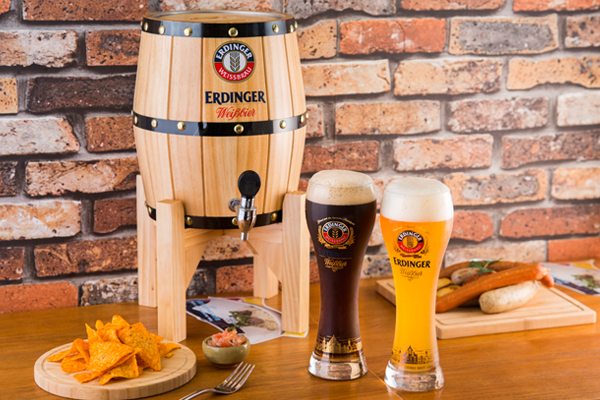 德國啤酒多羅羅 排名No.1德國麥啤   Erdinger有幾把炮?