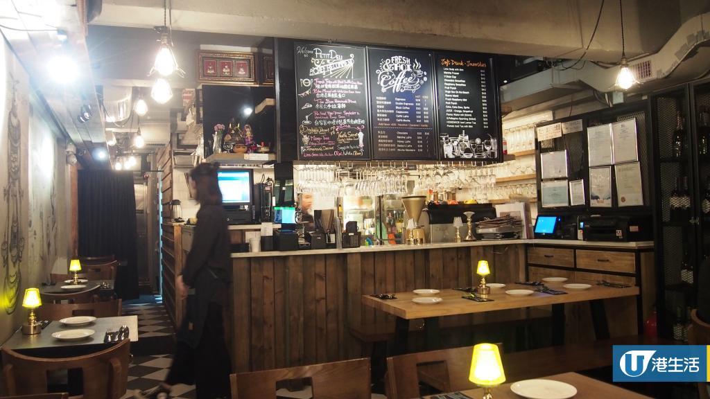 尖沙咀餐廳期間限定  優惠價$68歎生蠔+肉眼扒+紅酒