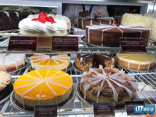 The Cheesecake Factory快閃港島 招牌芝士蛋糕太古城都買到!