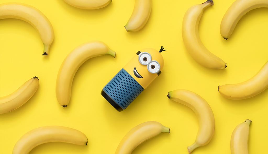 韓國Minions藍芽智能喇叭登場!8款表情貼紙任變