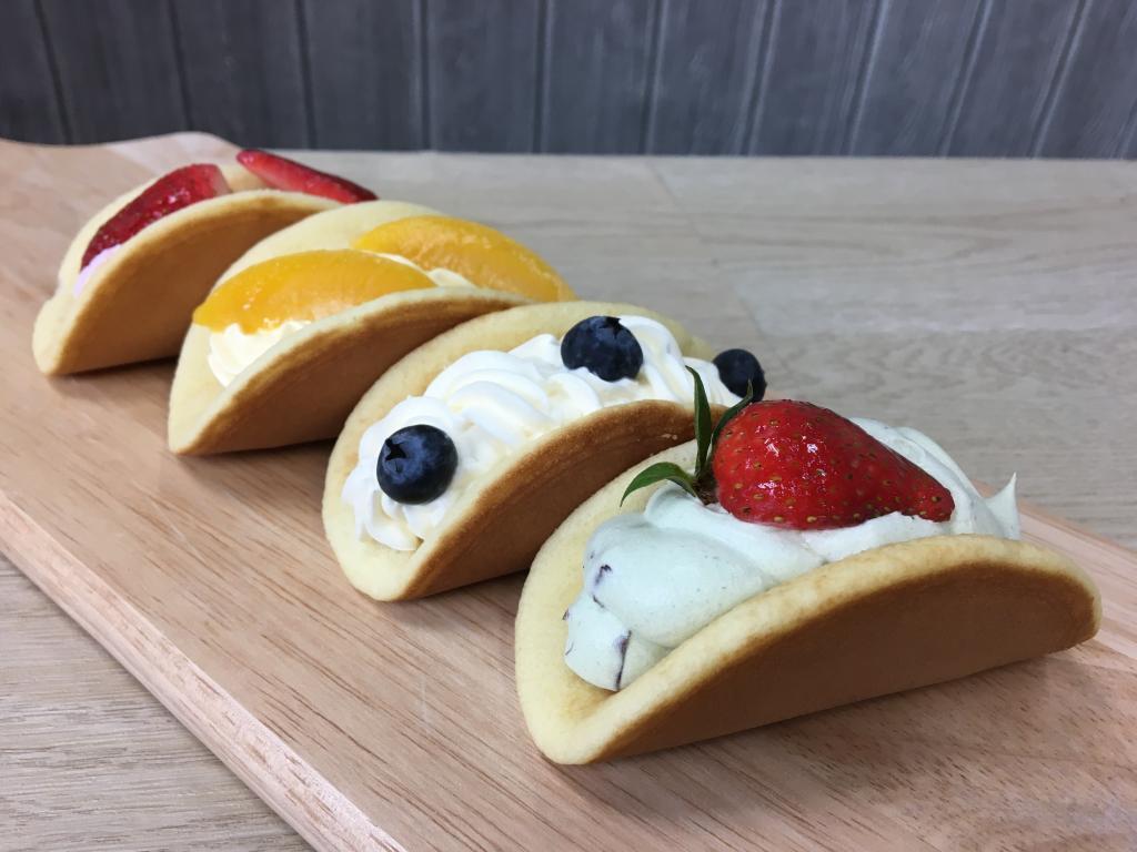 班戟軟熟鬆軟!餅店新出4款鮮果Mini Pancake