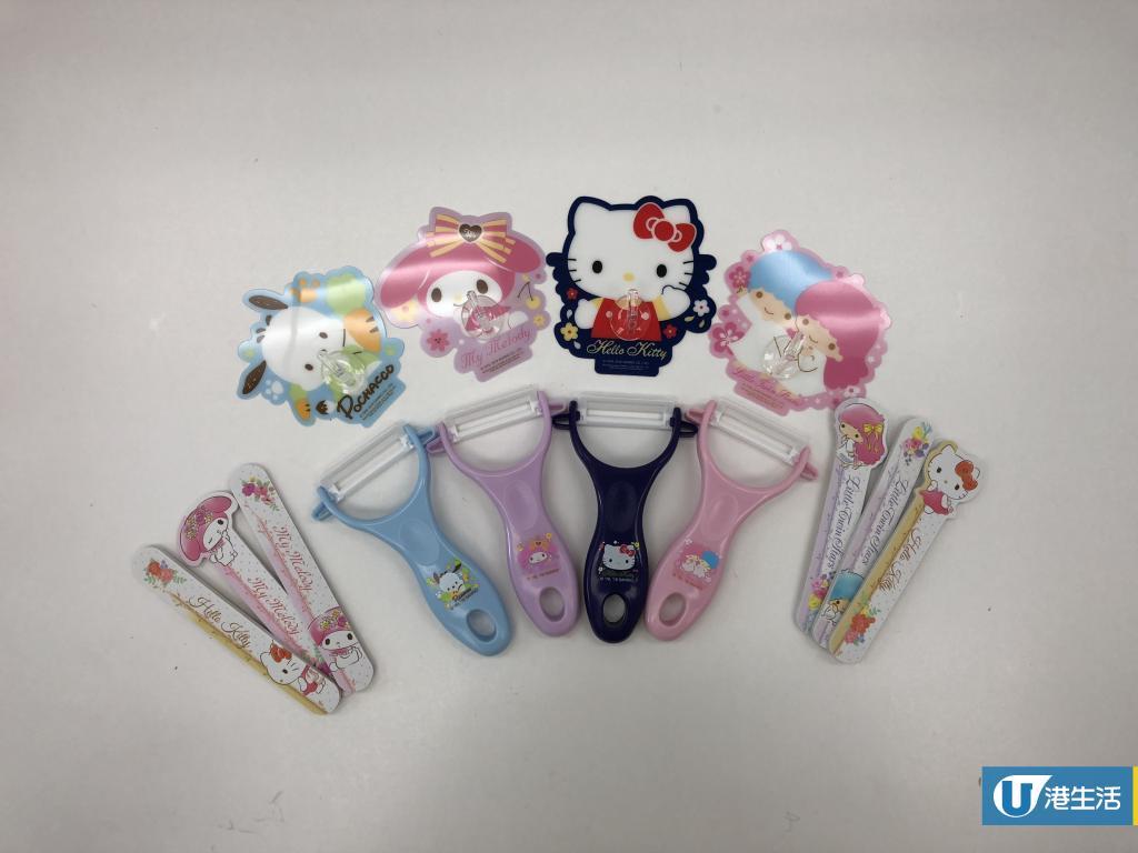 Sanrio新精品登陸7-11 縮骨遮+購物袋+玻璃餐盒