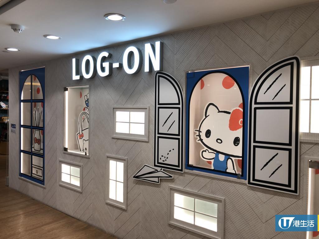Hello Kitty主題限定店登陸4間Log-On!影相位+獨家精品率先睇