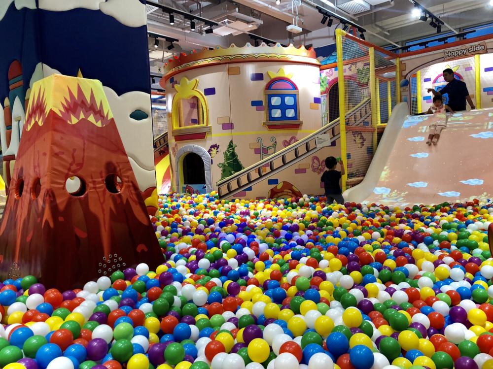 【沙田好去處】沙田萬二呎大型室內遊樂場!攀石牆/韆鞦/彈床/繩網