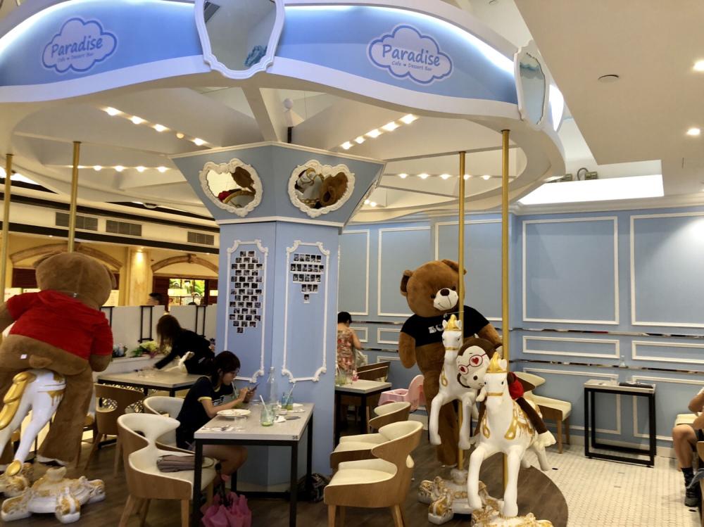 【柴灣好去處】旋轉木馬/南瓜馬車餐廳!$68兒童餐送木馬玩具