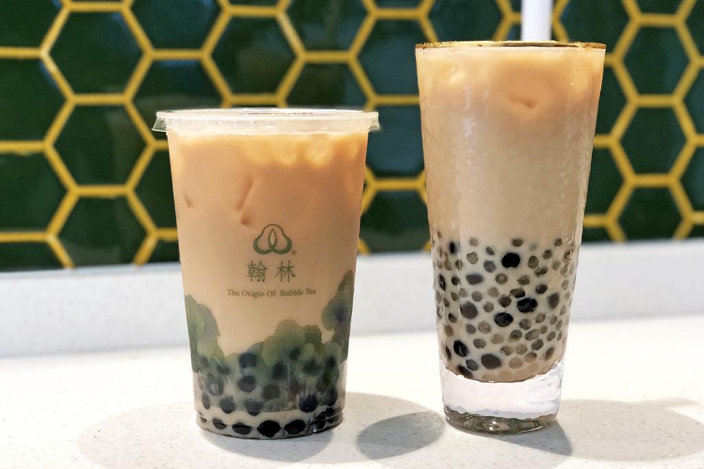 【尖沙咀飲品】台灣翰林茶館登陸香港 招牌黑白熊貓珍珠奶茶/炭燒鐵觀音茶麵