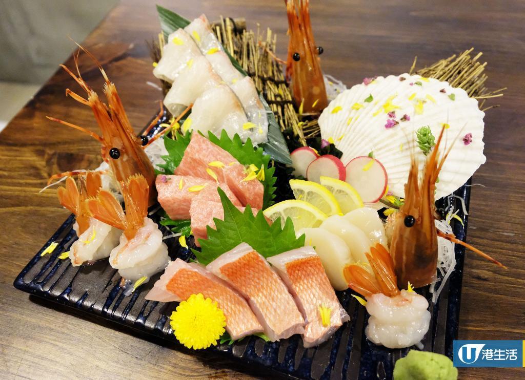 【尖沙咀美食】尖沙咀新高質日式居酒屋 日本直送刺身/海鮮浜燒/A5和牛壽喜燒
