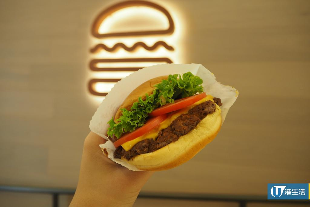 【金鐘美食】Shake Shack香港第二分店開幕 地址/價錢/分店限定美食