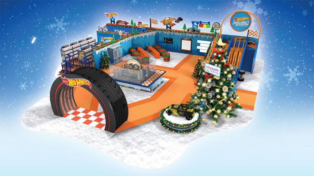 【聖誕節2018】Hot Wheels 50周年聖誕裝置登陸荃灣 汽車模型/13米賽道/限定店