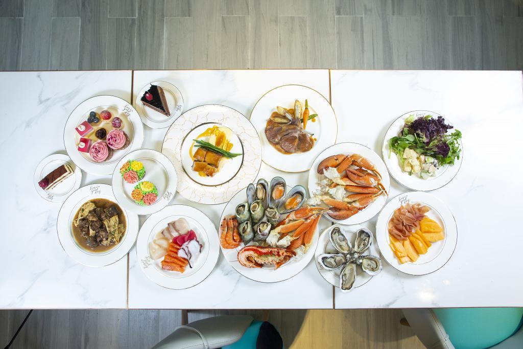 【觀塘美食】新酒店海鮮半自助餐 任食即開生蠔/龍蝦/松葉蟹腳/刺身壽司/甜品