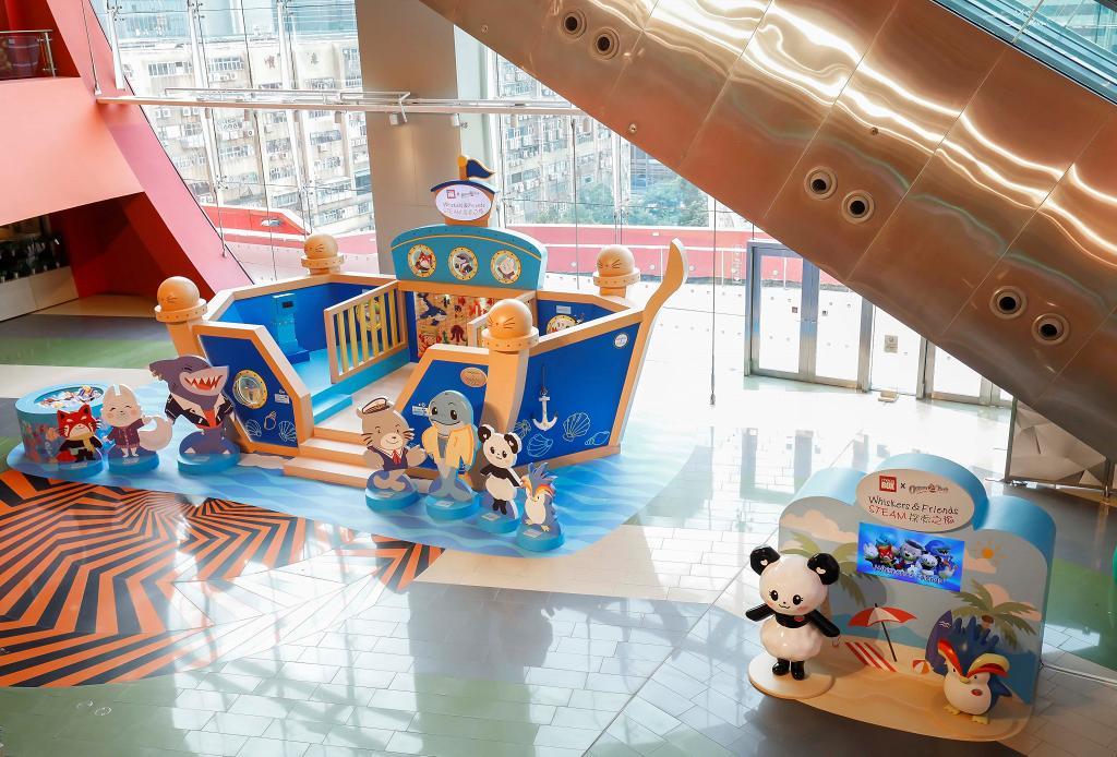 【九龍灣好去處】13呎高海洋郵輪登陸MegaBox 巨型扭蛋機/機動遊戲
