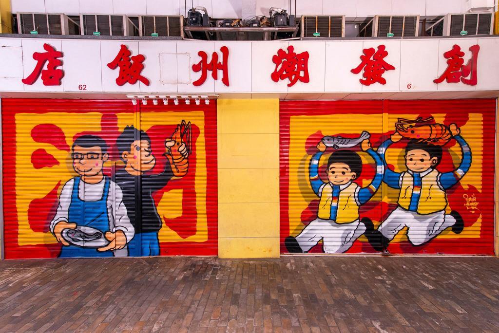 【九龍城/鴨脷洲好去處】22幅本土小店鐵閘壁畫登場 畫出香港故事見證社區變遷