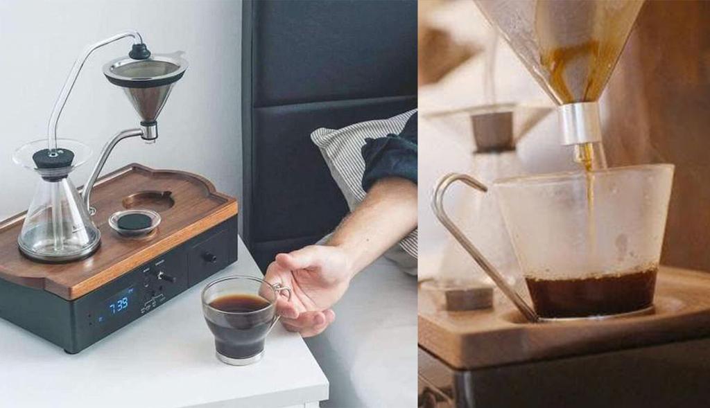 全球首個智能咖啡鬧鐘 香港開售!每朝煲定咖啡 用香味準時叫你起身