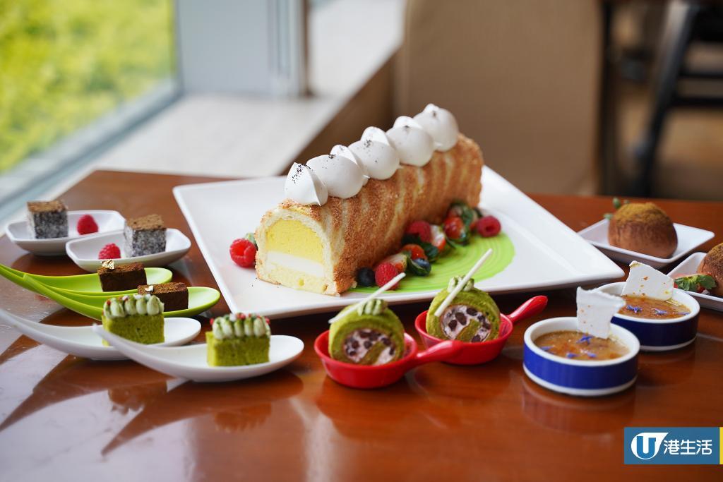 【紅磡美食】都會海逸酒店醇茶香下午茶自助餐 焙茶蛋糕/烏龍茶泡芙/奶茶燉蛋