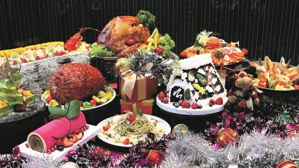 珀麗酒店 靚景聖誕自助餐