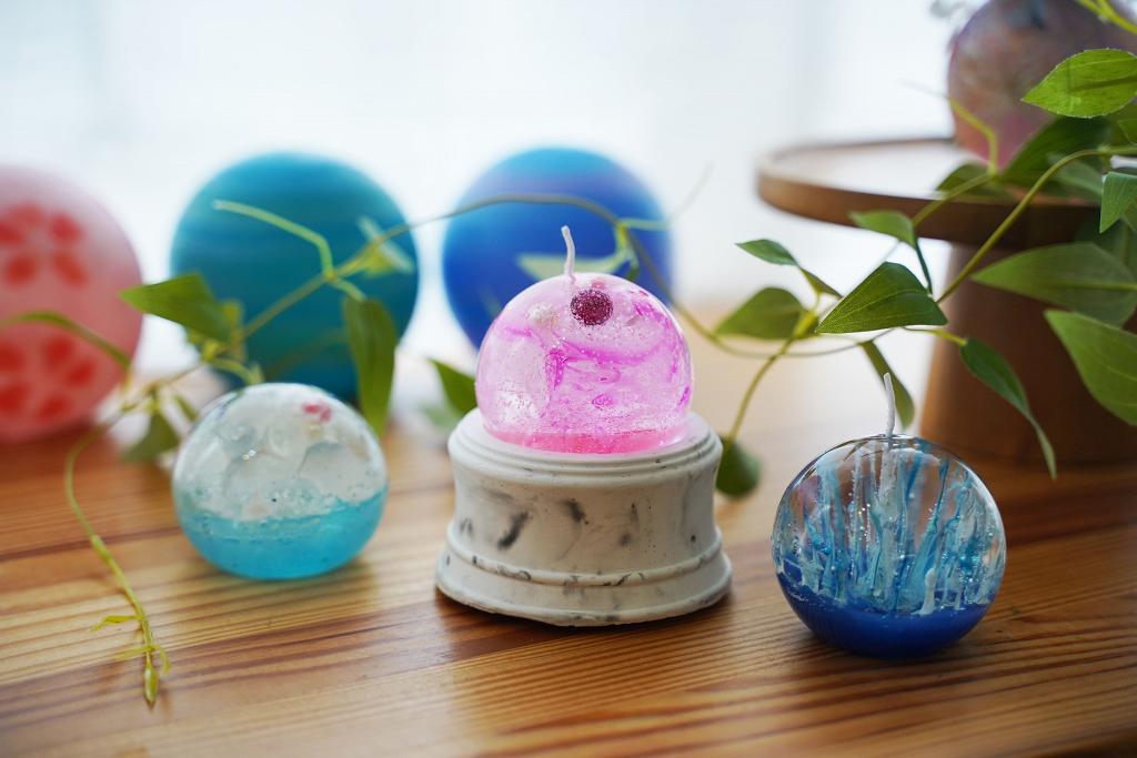 【火炭好去處】銀河星球香薰蠟燭DIY工作坊 自製乾花蠟燭/夢幻月球燈