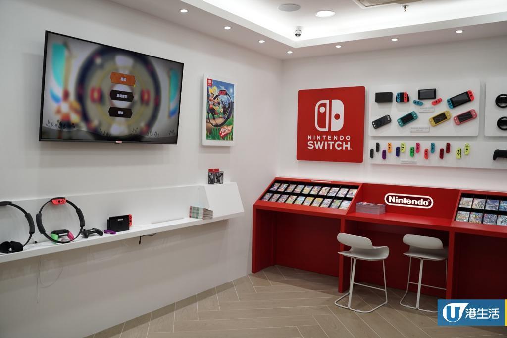 【深水埗好去處】全港首間任天堂販賣店開幕 Switch遊戲試玩區/官方價發售商品