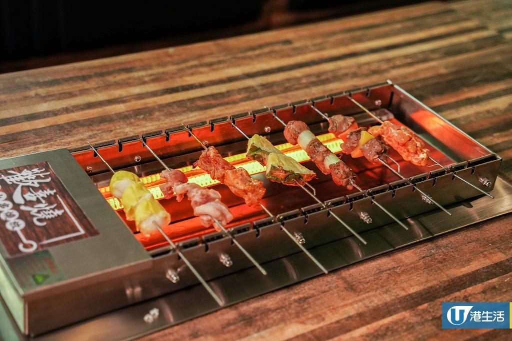 【觀塘美食】觀塘新開$148懶人串燒放題 任食達30款串燒/即燒海鮮/甜品/小食