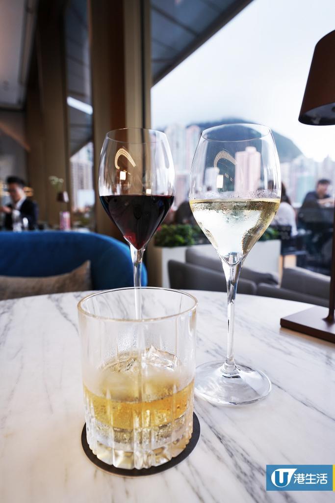 【酒吧優惠】中環天台酒吧限時任飲優惠 紅白酒/即製調酒/小食拼盤