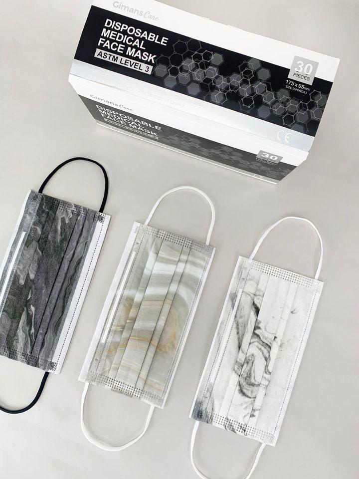【香港口罩】Gimans Care大理石口罩登場!獨立包裝ASTM Level 3口罩9月23日預售
