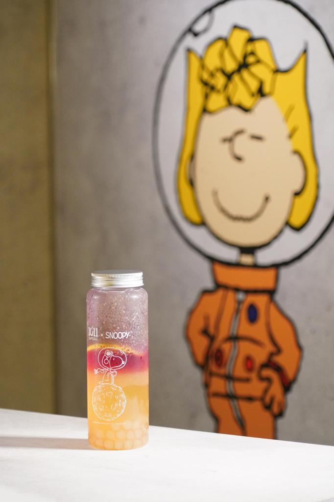 鄧麗欣茶飲店1011SIPTEA推Snoopy聯乘精品 雙層玻璃杯/帽/杯提/3D造型杯