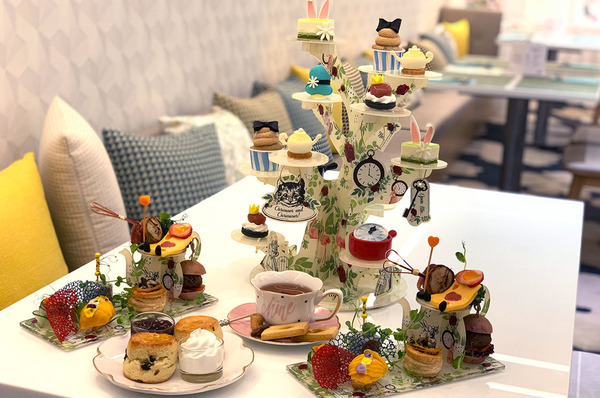 【酒店下午茶2020】荃灣悅來酒店推出愛麗絲主題下午茶 歎勻免子先生/瘋帽子造型甜品鹹點