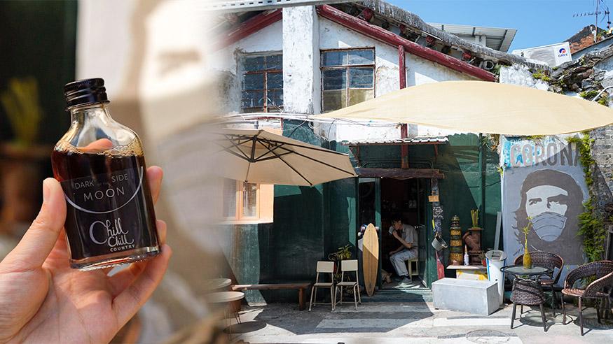 【坪洲好去處】坪洲清朝舊建築神秘雜貨店!自由定價樽仔咖啡/琥珀香水/香油