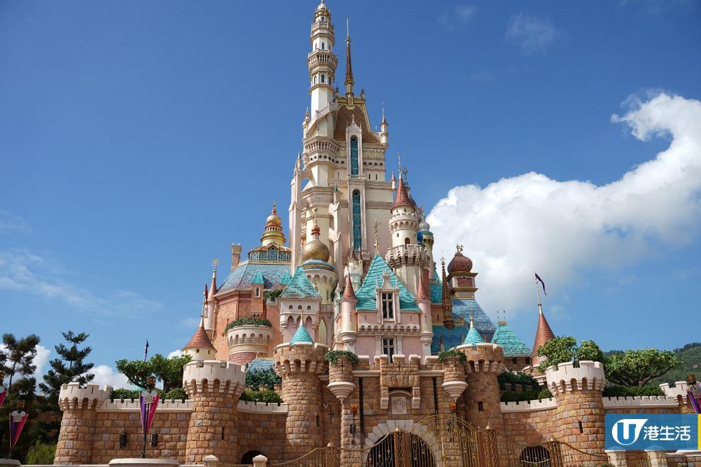 香港迪士尼樂園15周年全新夢幻城堡亮相!聖誕樹亮燈/聖誕舞會飄雪表演/卡通冬日造型登場